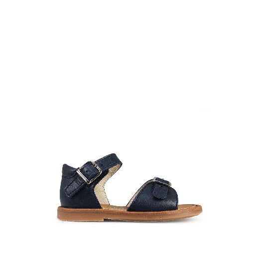 Kids shoe online Beberlis sandals Blue sandal