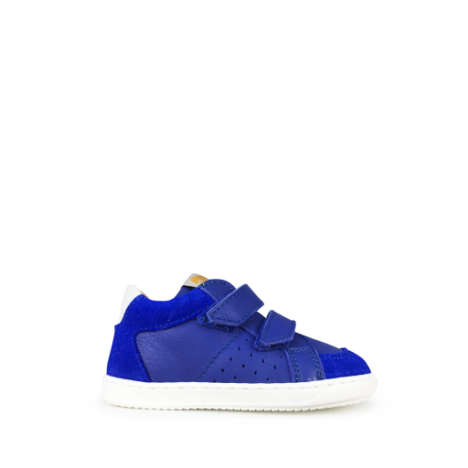 Kids shoe online Ocra first walkers Cool sneaker in bic blue